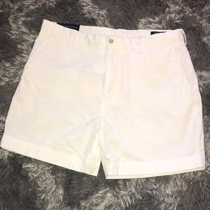 Polo Ralph Lauren Men's white shorts